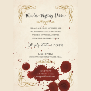 MURDER MYSTERY DINNER AT LES COTILS