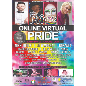 Walsall Pride 2020 goes virtual