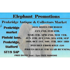 3 Elephants Antiques Arcade: Penkridge Antique & Collectors Market