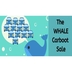 The Whale Car Boot Sale IS BACK!