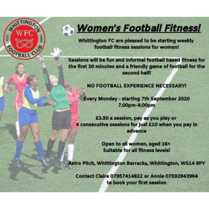 Women's Football Fitness