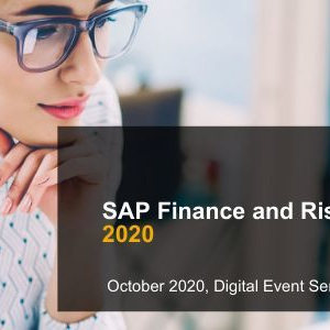 SAP Finance and Risk Live 2020