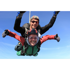 10,000ft freefall tandem skydive for Severn Hospice
