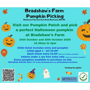 Bradshaw's Pumpkin Picking