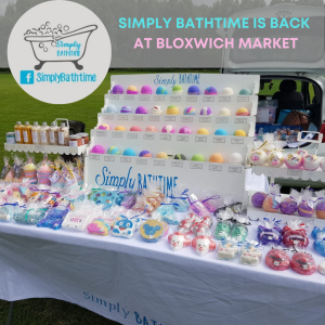 Simply Bathtime is back at Bloxwich Market