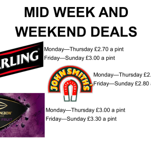 SAVE on Drink Deals at The Whimsey Inn