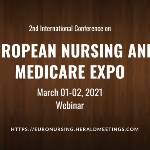 2nd International Conference on European Nursing and Medicare Expo