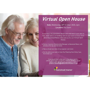 Virtual Open Day at #Banstead Manor @BansteadManor