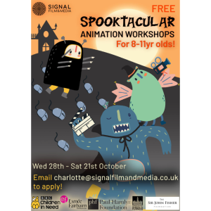 FREE Spooktacular Animation Workshops