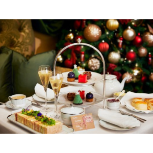Festive Afternoon Tea at St Pierre Park