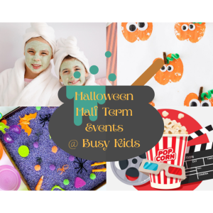 Halloween Half Term Events at Busy KIds Creche