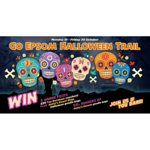 The #Epsom Halloween Trail in #Epsom Town Centre with @Go_Epsom