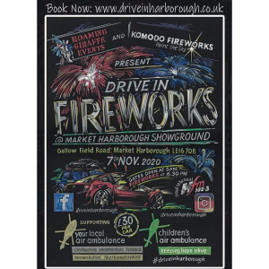 'Drive-In Fireworks' in Harborough