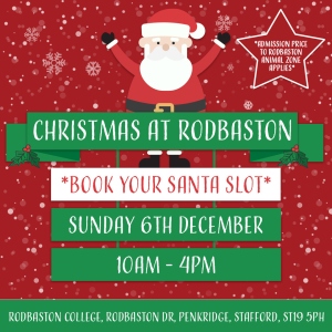 Meet Santa at Rodbaston!