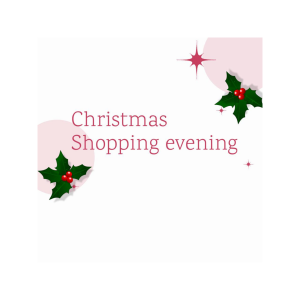 Christmas shopping evening at Vazon Elim Church
