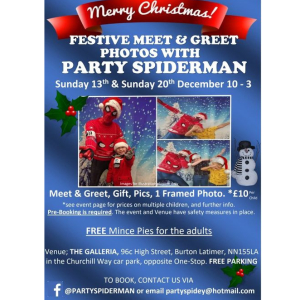 Meet and Greet with Party Spiderman.