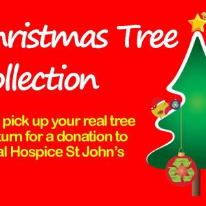 Wirral Hospice St John's Christmas Tree Collection & Recycling
