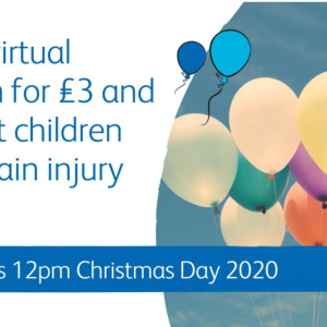 The Virtual Christmas Day Balloon Race with The Children's Trust