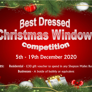 Best Dressed Christmas Window Competition