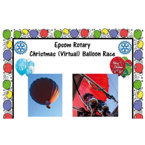 Christmas Virtual Balloon Race with Epsom Rotary