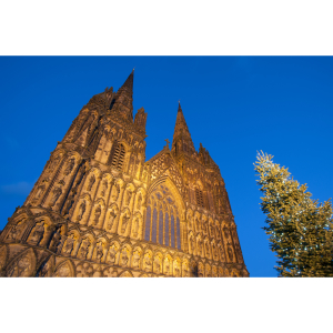 Outside Crib Services - Lichfield Cathedral