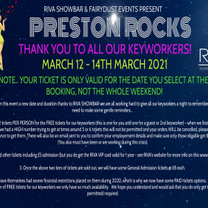 Preston Rocks - Let's thank our Keyworkers!