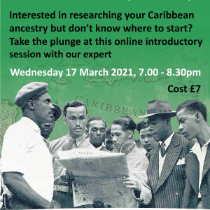 Getting started with your Caribbean family history