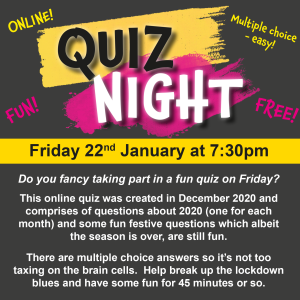 For The Fun Of It QUIZ NIGHT