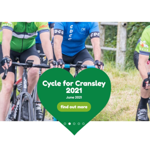 Cycle for Cransley 2021