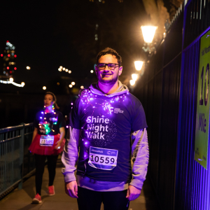 Cancer Research UK Manchester Shine Night Walk 2021