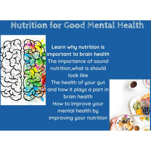 Nutrition For Good Mental Health with Work Stress Solutions –Epsom & Ewell Employment and Skills Initiative