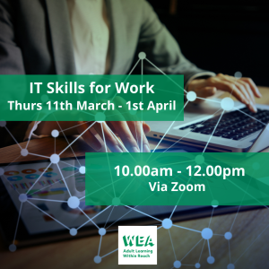 IT Skills For Work Course with @WEAEastSurrey - #Epsom & #Ewell Employment Skills Initiative