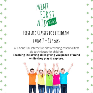 Mini First Aid Kids Class (7-11 years)