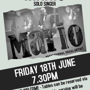 Mario Solo Singer LIVE at the Bridgtown Social Club