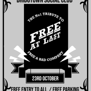 Free At Last LIVE at Bridgtown Social Club