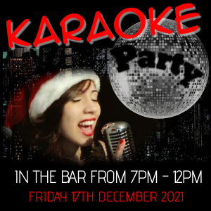 Christmas Karaoke Party at the Bridgtown Social Club
