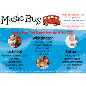 Music Bus Lichfield & Sutton Coldfield