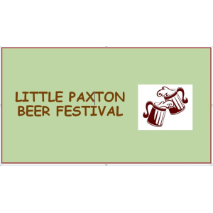 Little Paxton Beer Festival