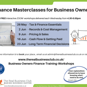 FREE & Online: Finance for Business Owners Masterclasses