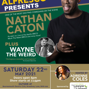 The Coastal Comedy Alfresco Show with Nathan Caton!