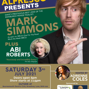 The Coastal Comedy Alfresco Show with Mark Simmons!