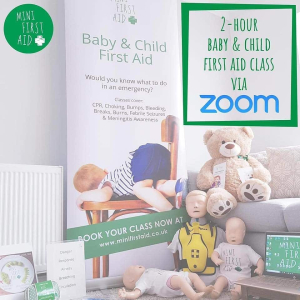 Virtual Baby & Child First Aid  For Families