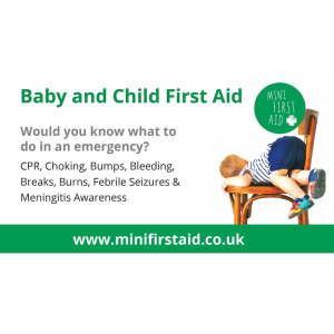 Baby & Child First Aid For Families