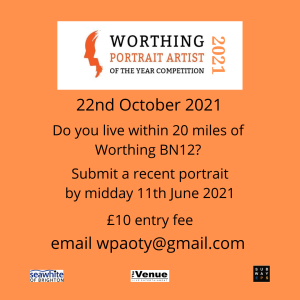 Worthing Portrait Artist of the Year 2021