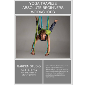 Absolute Beginners Yoga Trapeze Workshop.