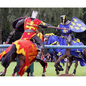 JOUSTING AND MEDIEVAL LIVING HISTORY VILLAGE