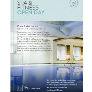 Experience a tour of our spa and fitness at Kettering Park Hotel.
