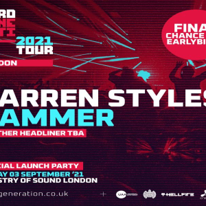 Hard Generation 2021 Tour // London