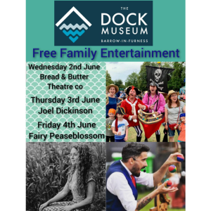 Family Entertainment at The Dock Museum