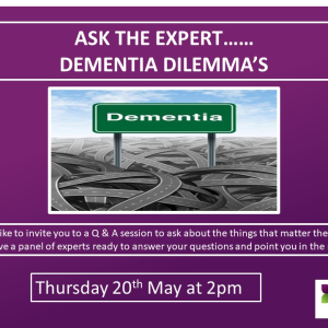 Dementia Dilemma's Q&A session with experts at @BansteadManor